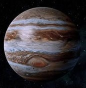 Jupiter and it's Great Red Spot