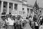 Protesting against MLK
