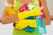 Obsessive cleaner
