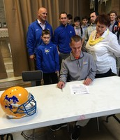 Michael Mack signs with McNeese!