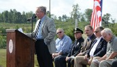 Mayor Lowery saying some words