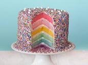 Sprinkles On Cake!!! :)
