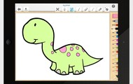 About pictus dinosaur - kids coloring book for all ages