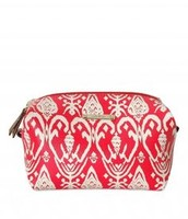 SOLD !!!!!!!!!!!           Pouf - Red Ikat