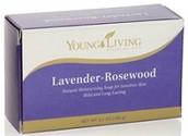Lavender Rosewood Bar Soap