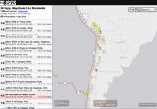 La historia de Chile de terremotos