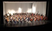 All-State Orchestra under the direction of David Hattner