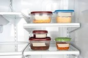 Safely stored food