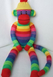 Create your own One of a kind Sock Monkey or Sock Bunny!