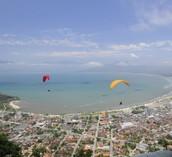 Salto de Paraglider
