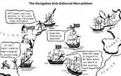 Navigation act cartoon