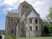 Romanesque Abbey church
