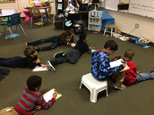 Crouch's class drafting student led newsletters.