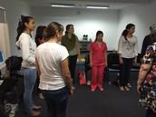 En este taller aprendemos a usar los movimientos rítmicos en el salón de clases con nuestros alumnos.