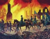 Shermans Destrution