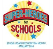 January is National School Board Appreciation Month