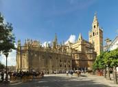 La Catedral de Seville en Seville, España