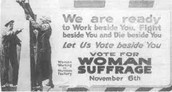 Women suffrage-intellectual