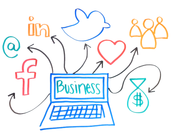 1.) Use of Social Media in Business