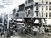 Larimer Street in the early 1880s