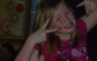 Mackenzie smiling! :)