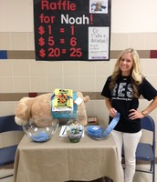 Over $500 raised in less than 2 hours for Noah's Service Dog!!!