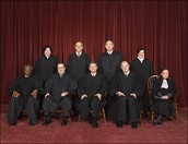 The nine current Supreme Court justices.