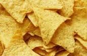 Unused Tortilla Chips