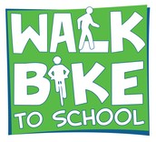 Spring International Walk/Bike to School Day!