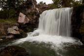 Winnewissa Falls at Pipestone