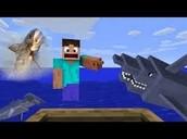 minecraft sharks