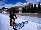 Me gusta montar en bicicleta pero es frio.
