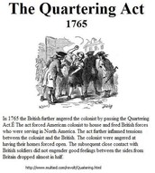 Pictures of Quartering Act