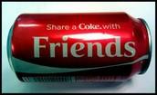 A modern day Coke can.