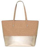 Faux Suede Tote