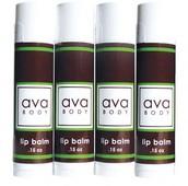January Highlight - avaBODY Lip Balm 4 Pack