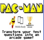 Review Quiz, PacMan Style