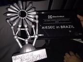 AIESEC NO BRASIL GANHA O GLOBAL ELECTROLUX EXCELLENCE AWARDS 2015