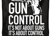 The government should not control our guns because: