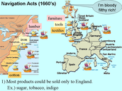 Mercantilism and The Navigation Acts.