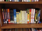 Check out Gordon Korman's books from the EMS library before he visits!