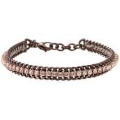Copper cupchain bracelet