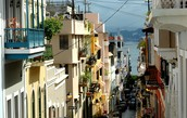 Old San Juan is a popular tourist area in Puerto Rico.