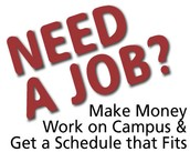 Get a Job on Campus