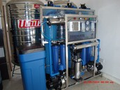 21 STAGES [3000 GPD] PURIFIED WATER SYSTEM