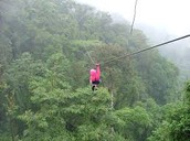 ziplining in skagaway