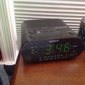 The alarm clock