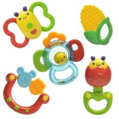 Teething toys and rattles