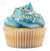 blue cupcake example