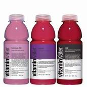 Agua de vitaminas